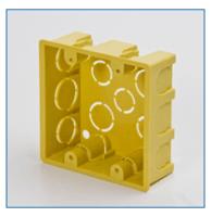 Cajas de Empotrar 4x4  -