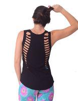 Regata Camiseta Fitness com Recorte a Laser - FITCM005 -