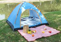 Fully automatic outdoor camping tent -