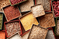 Grains and cereals -