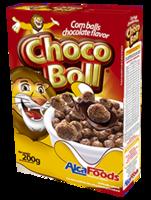 Choco boll (bola de maíz con sabor a chocolate) -