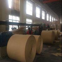 buena calidad fina kraft papel marrón kraft papel, producto de rollo de papel artesanal -