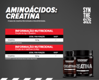 CREATINA MONOHIDRATADA (120G / 300G / 100 CAPS) -