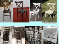 Cross Back Chair -