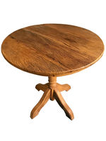 Mesa de jantar Rústica Redonda (Farmhouse Round) -