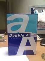 Double A4 white copy paper 80gsm -