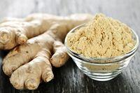 dry ginger  -