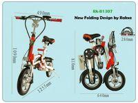 Electric Bicycle Folding Lithium Fold Bike RK-B130 -
