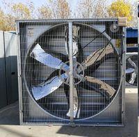 Bandeja de alimentação da galinha do equipamento de criação de aves domésticas com ventilador da exaustão da ventilação -