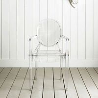 Transparent ghost dining chair / Dining chair Transparent Ghost -