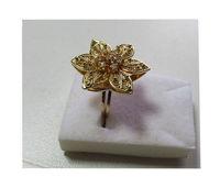 Filigree Ring with Brilliant -