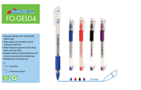 Gel Pen Refillable & Cap-type Design Plastic Pen: FlexOffice SunBeam FO-GEL04 -