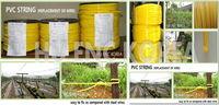pvc string wire -
