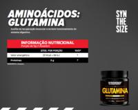 AMINOÁCIDOS - GLUTAMINA (150G/300G) -