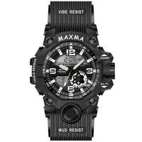 2018 MAXMA dual digital analog sportg shock type watch -