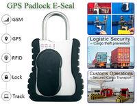 Rastreo GPS en el tránsito de transporte de cerradura electrónica de mando de seguridad de mercancías -