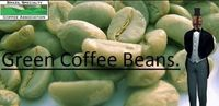 Green Arabica beans -