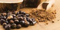 Polvo o granos de guaraná -