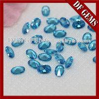 High Quality Oval Cut Aquamarine Gemstone -