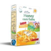 FLOCOS de milho do mel -