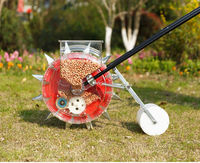 Manual Corn Seed Planter Seeder Machine and Manual Fertilizer -