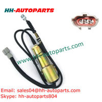 Engine Shut Down Solenoid 11E1-60100-12 11N6-666030-12 12V for Hyundai 210 Excavator -