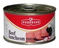 Conservas de carne, frango / Suínos / Bovinos carne do almoço, carne enlatada -
