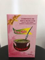 Yerba MATE 500 GR ERVALENSE-COMPOSED of STEVIA, green tea, hibiscus, GORSE and anise. -
