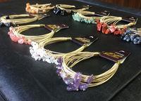 Buriti Bracelet with Gravels -