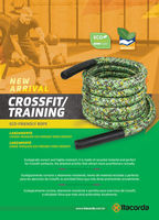 Ecofriendly cuerda entrenamiento/Crossfit 36mm -