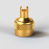 Key Type Large Bore Tube - Tubeless Tyre Valve Cap -