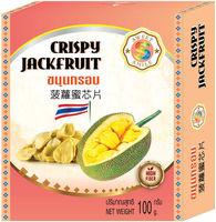 Dulce sonrisa Jackfruit crujiente Snack -
