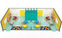 Espacios del jardín de la infancia -