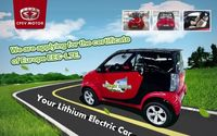 Lithium electric car Vehicles fire beetle -