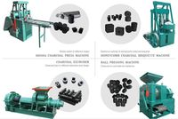 Hydraulic Carbon powder extruder charcoal production line charcoal briquette machine mechanism charcoal China suppliers -