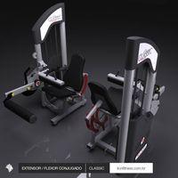 Extensor / Flexor Conj, Classic Lion Fitness -