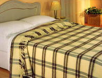 Pure Wool Blankets and Throws -