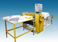 Paper Machine Interfold - two folds -