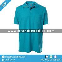 Camiseta Masculina Básica Em Gola V -