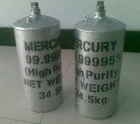 pureza de mercúrio líquido prata 99.9 -