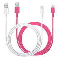 China best quality MFi USB lightning cable 2.4A for iPhone 1m length -