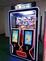Qingfeng Indoor Coin Operated Kids Toy Gift Crane Game Machine  -