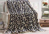 Wild Animals Print Raschel Blankets -
