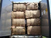 Desecho de residuos de OCC -