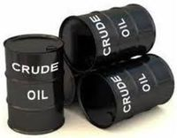 crude oil -