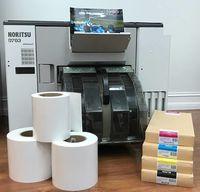 Fuji y Noritsu Drylab papel y tinta -