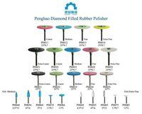 Dental Rubber  Diamond Polisher for zirconia  (coarse,medium,fine ,extra fine) -