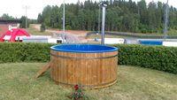 Banheira de água quente -