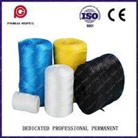 Gado embalagem corda cordas amarradas prensa redonda da embalagem de filme de polipropileno lacrimal de corda linha de embalagem -