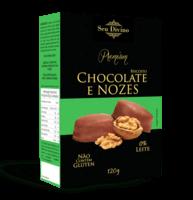 Biscoitos Chocolate com Nozes 120g -